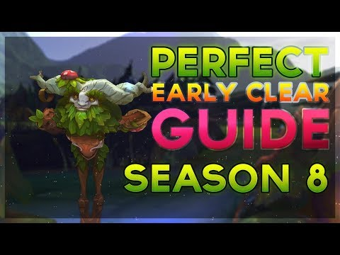 Perfect Ivern First Clear Guide Pre-Season 8 (Three Buff Jungle Invade Route)