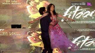 Bollywood News, Entertainment Movies, Promotions, Katrina Kaif, Aditya Roy Kapoor, Fitoor Movie, NM College