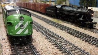 Modellbahn von Amerika in Spur H0 in der Sammler- und Hobbywelt Gießen