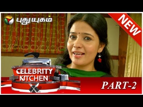 Celebrity Kitchen with Actress Shri Durga & Shanthi Williams - Part 2 (22/06/2014)