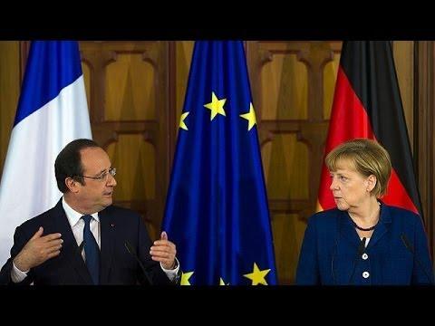 Merkel et Hollande : référendum illégal, présidentielle capitale en Ukraine