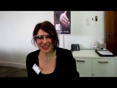 First UK Legal IT interview via Google Glass