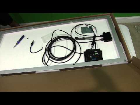 Renogy 30A Charge Controller MC4 Cable Connection Demonstration