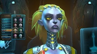 Wildstar: Exiles - Female Mordesh Character Customization Options (Wildstar BETA Gameplay)