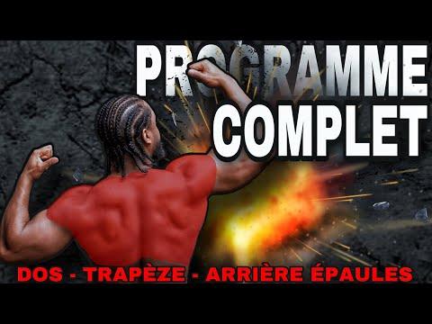 [ PROGRAMME COMPLET DOS TRAPÈZES ARRIÈRE ÉPAULES  ] Programme Type musculation