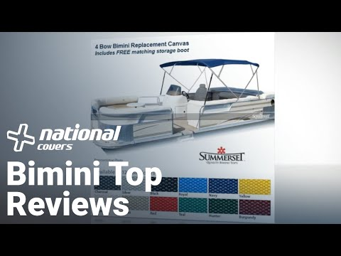 Bimini Top Reviews, Summerset Bimini Tops Manufactured By Eevelle