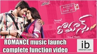 Romance Movie Audio Launch
