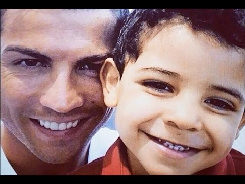 Cristiano Ronaldo with son Cristiano Jr  2013 part 2