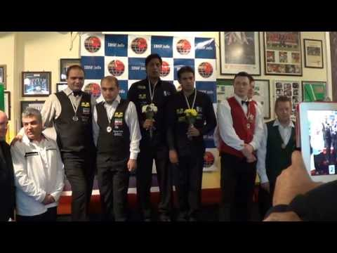 Medal Ceremony of 2013 IBSF World Team Snooker (MEN)
