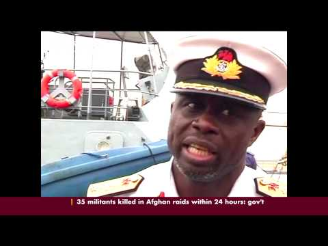 Nigeria navy captures 4 suspected pirates