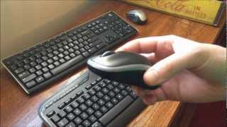 Logitech MK320 Wireless Keyboard Mouse Review