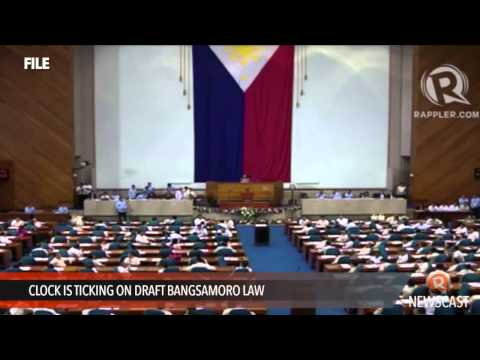 Clock is ticking on draft Bangsamoro law