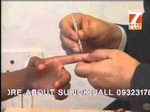 Memory Improvement by Su Jok Therapy Hindi