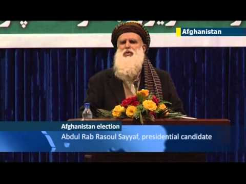 9/11 ties of Afghan presidential candidate: Sayyaf welcomed bin Laden to Afghanistan in 1990s