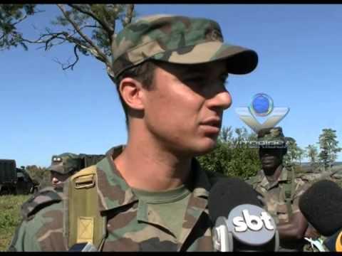 Escola de Oficiais do RJ realiza treinamento no Exército em Uberlândia