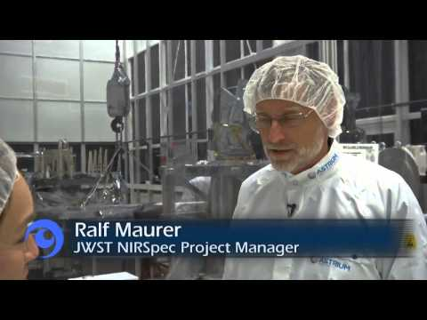 A Look At The James Webb Space Telescope's High Tech Spectrometer | Video