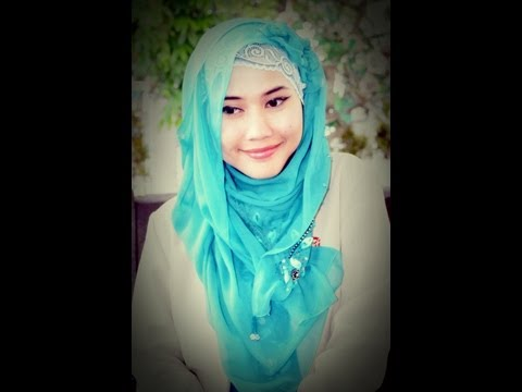 A Lacy Hijab Paris Tutorial | Girly Look | by Didowardah | Running Ramadhan - Part 19#
