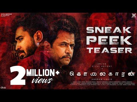 Kolaigaran - Sneak Peek Teaser 4K - Arjun, Vijay Antony, Ashima Narwal - Andrew Louis - Simon K.King
