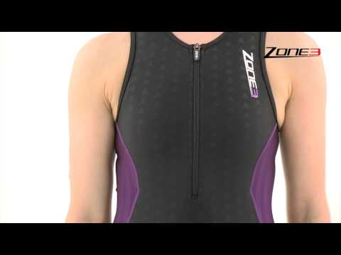 Women's Zone3 Aquaflo Tri suit