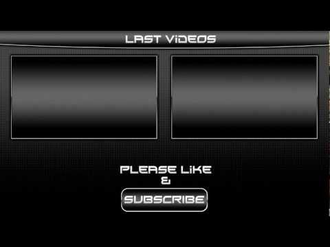 Black Outro Template Video for Sony Vegas pro 11 + Download Link