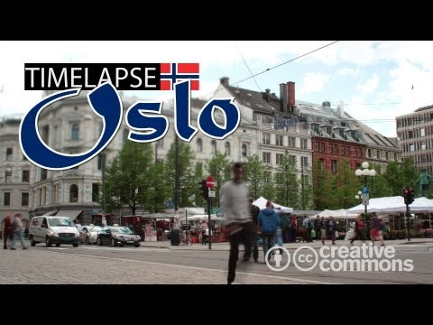 Street (TIME LAPSE) - Oslo, Norway