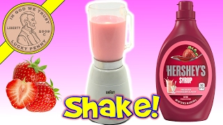 Kids Toy Mini Blender Braun Multimix One Eleven (1 11) - Strawberry Milkshake
