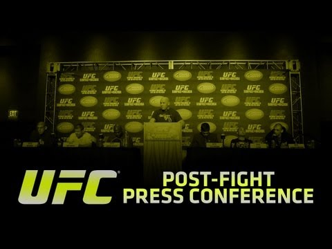 UFC 148 SILVA vs SONNEN Post-Event Press Conference