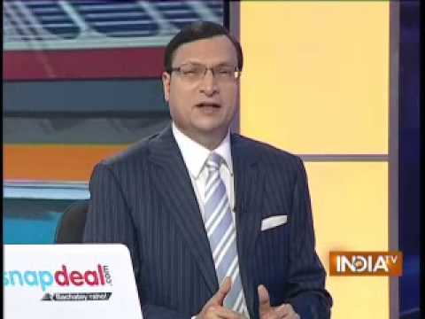 Rail Budget 2014 with Rajat Sharma