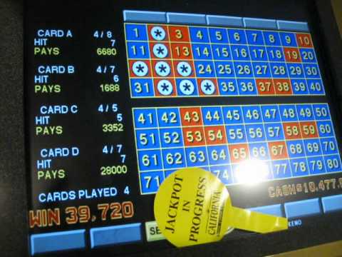 4 card keno jackpots pechanga