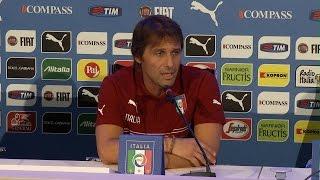 """Conte: """"Riscontri positivi dalle visite ai club"""" - 1 Settembre 2014"""