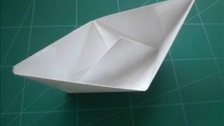 Kağıttan kayık yapımı - origami gemi