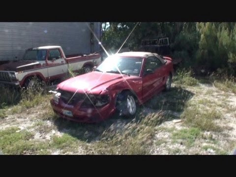 FORD MUSTANG-CRASH BANG BOOM!-Collision Repairs-Part 1