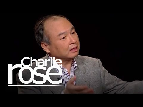 Masayoshi Son, CEO of SoftBank Corporation
