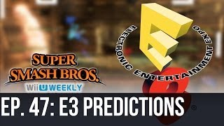 Super Smash Bros. Wii U/3DS E3 Predictions