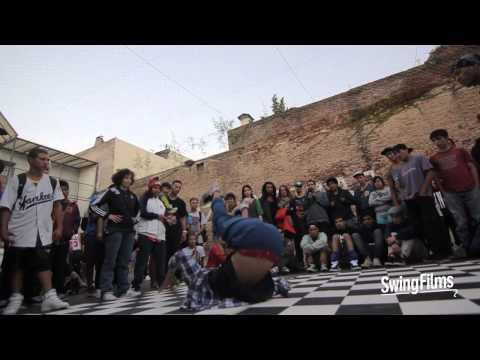 Mano a Mano Battles 2014 - Super Poderosas Crew vs Zoo Attack Crew 1  - Semi Final - BBoy 2v2
