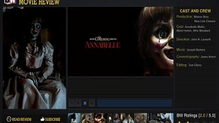 Annabelle Movie Review BW