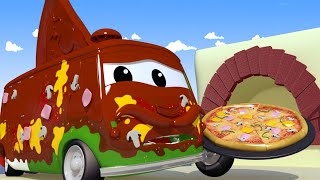 Mesto áut - Karlo robí pizzu