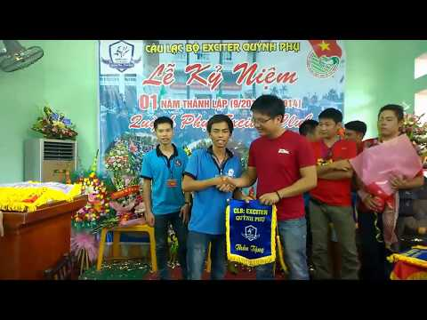 EX TN : Lễ kỷ niệm 1 năm thành lập Club Exciter Quỳnh Phụ [HD]