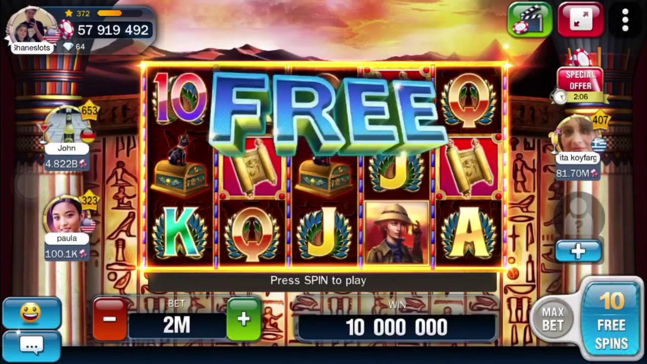 free chips billionaire casino
