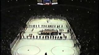National Anthem At United Center Opening Night 1/25/95