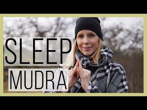 Mudra to Induce a Sound Sleep