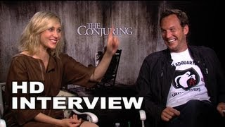 The Conjuring: Funniest Interview You'll Ever See