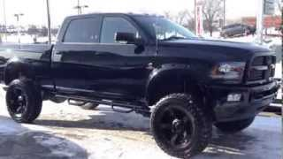 Exterior Lifted & Customized! 2014 Ram 2500 Laramie Crew