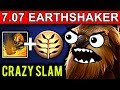 CRAZY EARTHSHAKER DOTA 2 PATCH NEW META PRO GAMEPLAY