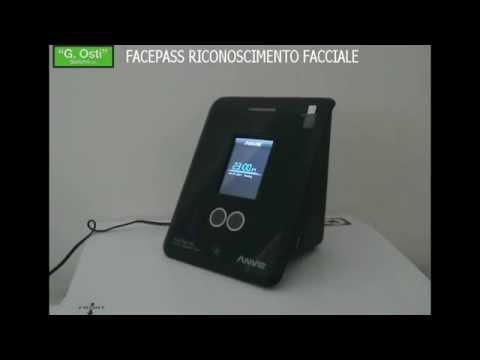 FACEPASS Pro lettore biometrico a riconoscimento facciale e Rfid registrazione del volto