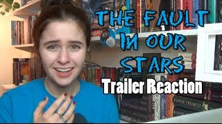 The Fault In Our Stars Trailer Reaction!