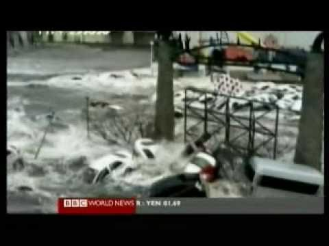 Japan 2011 Earthquake 13 - Overview Day 2 - BBC News Reports 13.03.2011