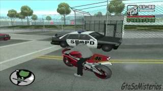 GTA San Andreas Curiosidades Policiales (Misterio 4)
