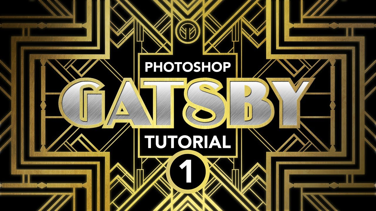 Great gatsby logo font how to get that quot gatsby quot