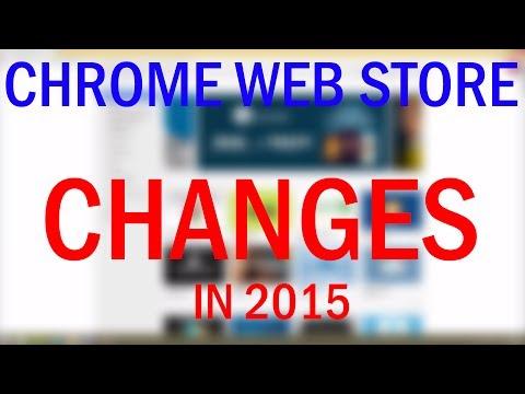 Google Chrome Web Store Changes!